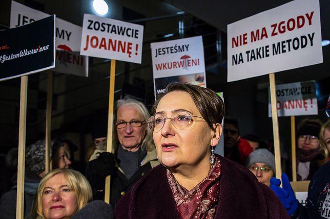"""Żona prezydenta Poznania zostanie ukarana? Na demonstracji mówiła, że """"jest wku…ona"""""""