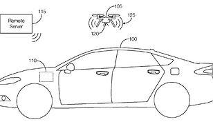 Fragment wniosku patentowego zgłoszonego przez Forda.