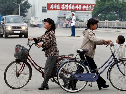 Koreanki mogą już jeździć na rowerach