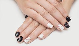 Wzorki na paznokciach nie muszą być precyzyjne, aby wyglądały efektownie.