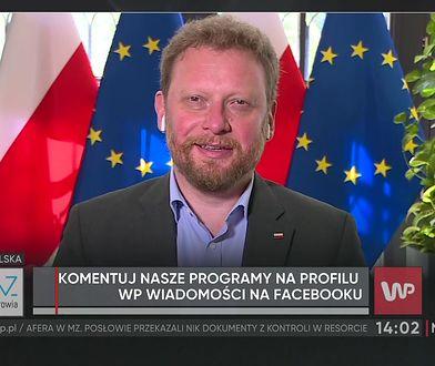 Łukasz Szumowski o oskarżeniach posłanki PO. Nazwała go oszustem