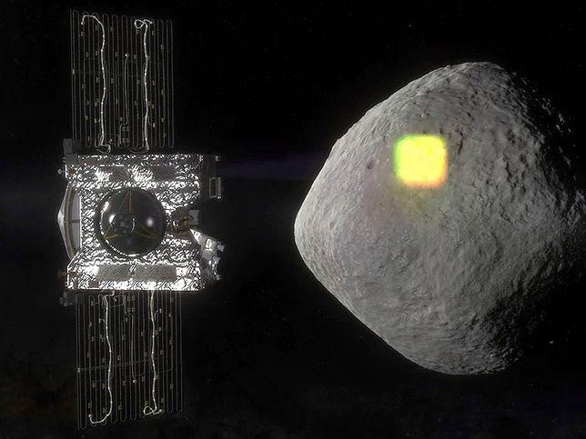 Statek kosmiczny OSIRIS-REx bada asteroidę Bennu. NASA wykryła coś niepokojącego