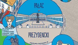 Mapka dla dzieci - Pałac Prezydencki