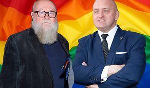Zrównał homoseksualizm z nazizmem. Bralczyk odpowiada