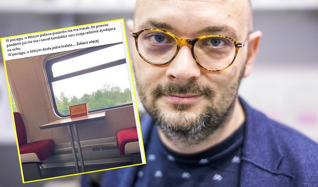 Filip Springer punktuje absurdy w pociągach