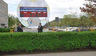 Euro-zegar opuszcza Pragę