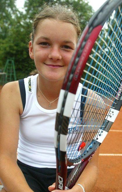 Agnieszka Radwańska (2005 rok)