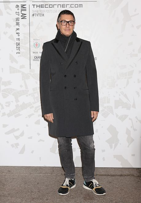attends the The Vogue Talents Corner fashion show during Milan Fashion Week Womenswear Autumn/Winter 2014 on February 19, 2014 in Milan, Italy.