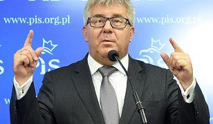 """Ryszard Czarnecki zapewnia, że próba odwołania go ze stanowiska wiceprzewodniczącego PE nie jest związana z jego słowami wobec Róży Thun, ale stanowi """"atak w polską suwerenność"""""""