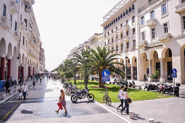 Saloniki to drugie co do wielkości miasto w Grecji