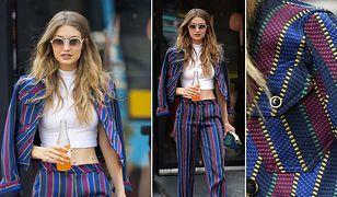 LOOK OF THE DAY: Gigi Hadid w stylizacji Tommy Hilfiger