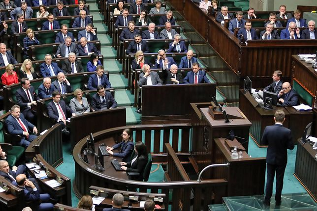 Sejm. Na głosowaniach ma pojawić się Jarosław Kaczyński