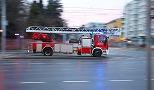 Tragedia w Poznaniu. Dwie osoby spłonęły w pojeździe