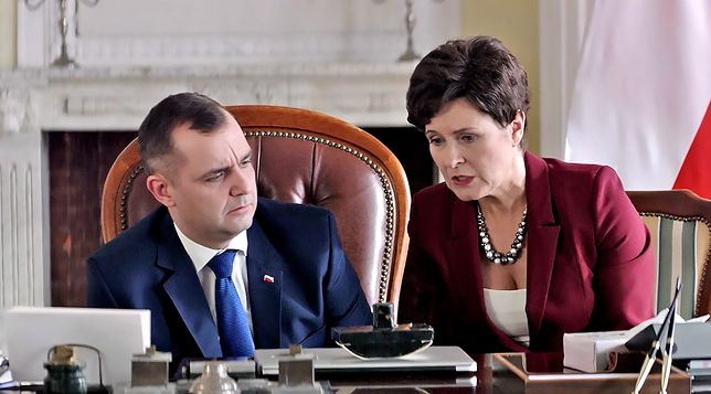 Paweł Koślik brawurowo wcielił się w rolę prezydenta