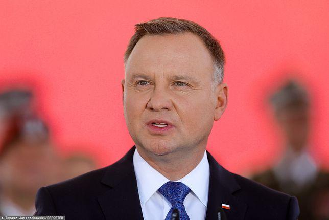 Bałtyk. Prezydent Andrzej Duda miał wypadek na skuterze wodnym