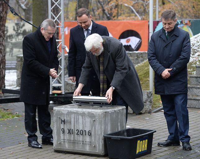 Wmurowano kamień węgielny pod budowę Muzeum Józefa Piłsudskiego
