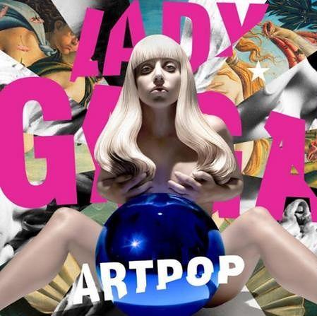Pozornie niewinna okładka płyty Lady Gagi