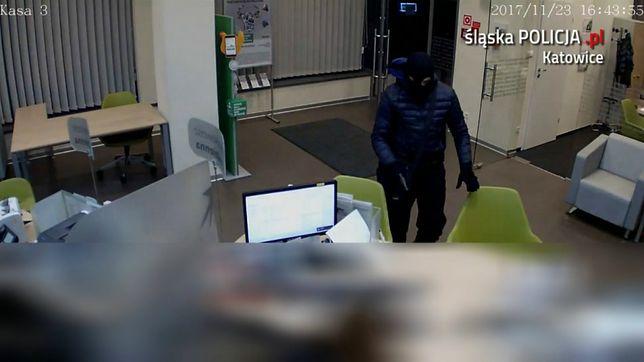 Napad na bank w Katowicach
