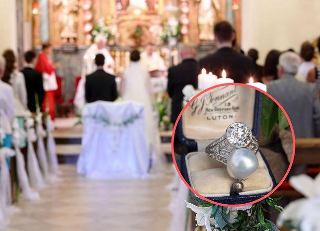 Pierścionek zaręczynowy wzbudził wiele kontrowersji