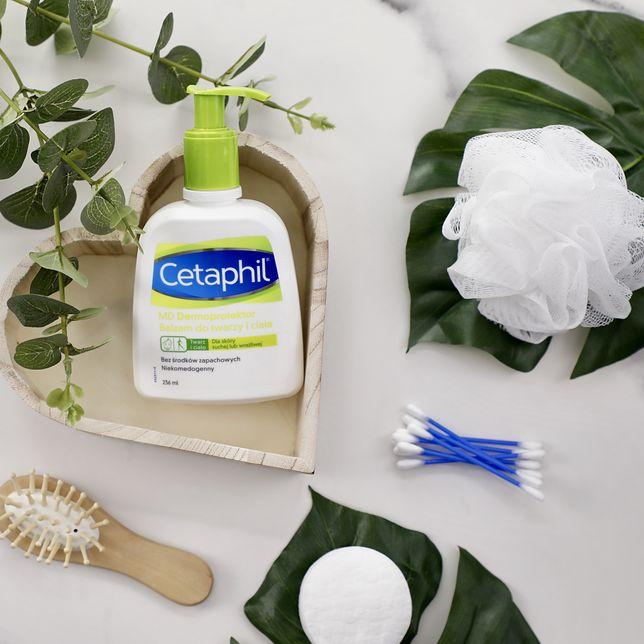 Kosmetyki Cetaphil świetnie nadają się do skóry suchej i wrażliwej.