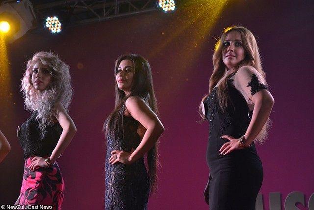 W finale konkursu wzięło udział 8 dziewczyn