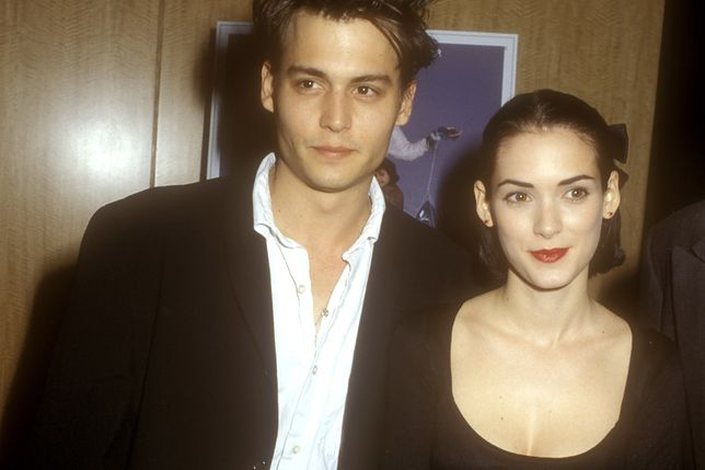 Winona Ryder i Johnny Depp w latach 90.