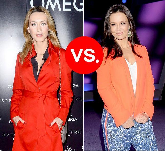 Anna Kalczyńska vs. Kinga Rusin - która gwiazda ubiera się lepiej?