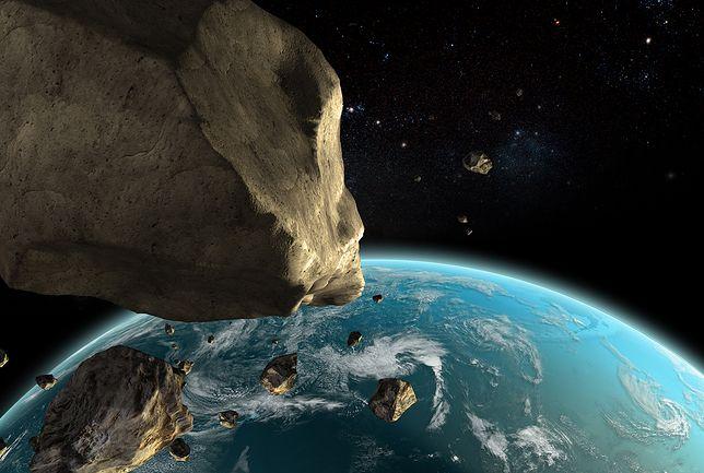 Zderzenia Ziemi z asteroidami już się zdarzały