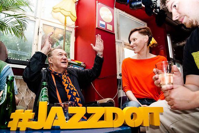 Michał Urbaniak i ekipa RadioJAZZ.FM (fot. RadioJAZZ.FM)