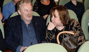 Daniel Olbrychski i Krystyna Demska-Olbrychska mają problemy ze sprzedaniem posiadłości w Mięćmierzu