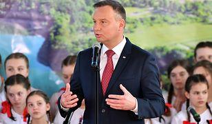Prezydent Andrzej Duda chłodno potraktował prezydenta Rosji