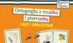 Karty obrazkowe Ortografia z muchą i pietruchą