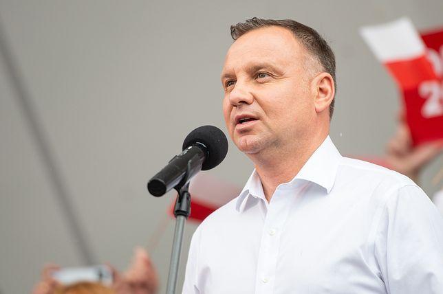 Wybory prezydenckie 2020. Prezydent Andrzej Duda chce debatować