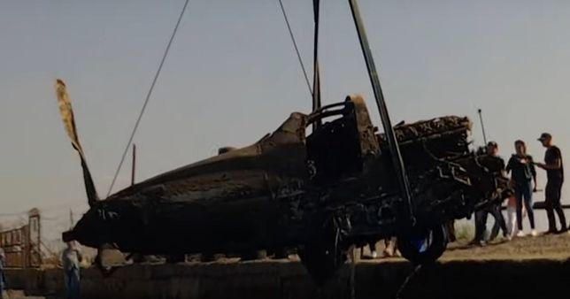 Wrak amerykańskiego myśliwca wyłowiony z Morza Czarnego