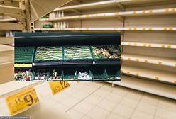 Problem z łańcuchem dostaw trwa, a w Wielkiej Brytanii i USA puste półki zakrywa się... fototapetami