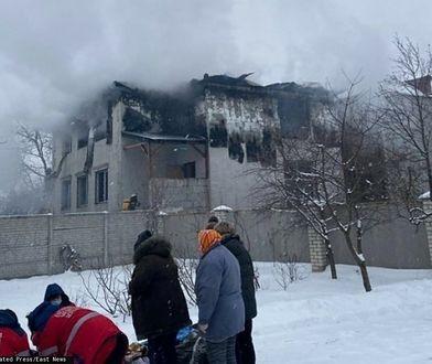 Ukraina. Tragiczny pożar w domu opieki. Aresztowano dwie osoby