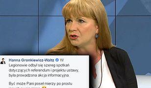 """Gosiewska o referendum w Legionowie: """"Pytanie na pewno nie w pełni było zrozumiane przez uczestników"""""""
