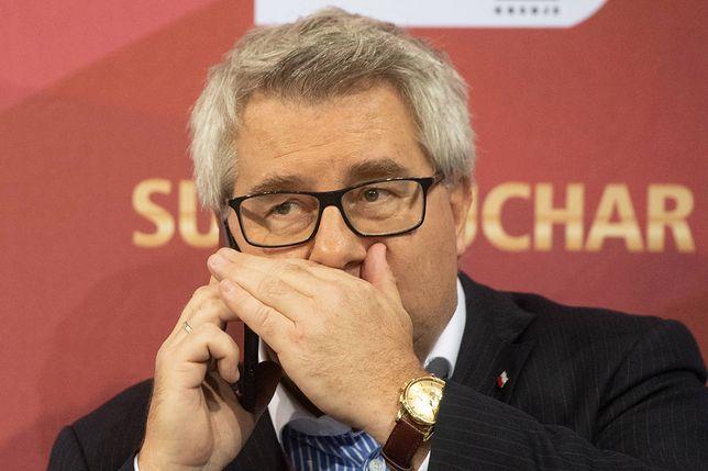 Poseł PO złożył zawiadomienie do prokuratury. Czarnecki miał powoływać się na wpływy w CBA