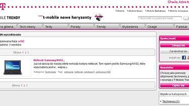 Samsung N102SP i wizerunkowy strzał w kolano... - dostępny jest w T-Mobile za 1 zł