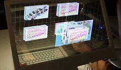 Twoje biurko rodem z filmów science-fiction - trójwymiarowy pulpit