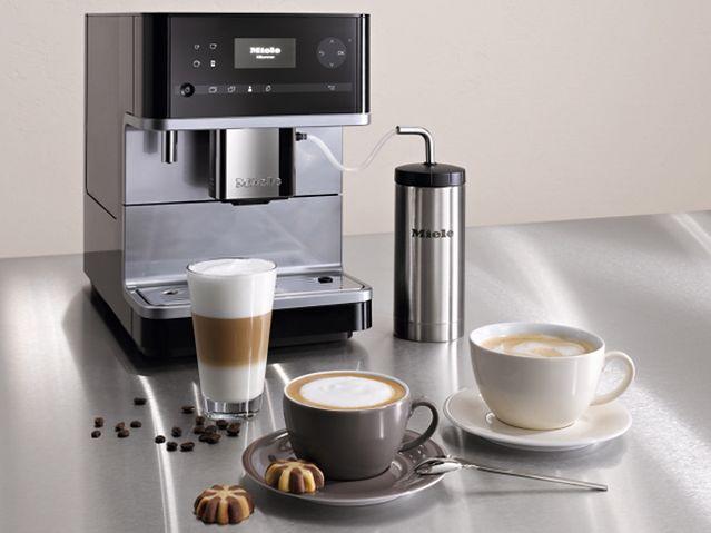 Miele CM 6 - nowy, wolno stojący ekspres do kawy