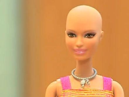 Łysa lalka Ella dla dziewczynek po chemioterapii