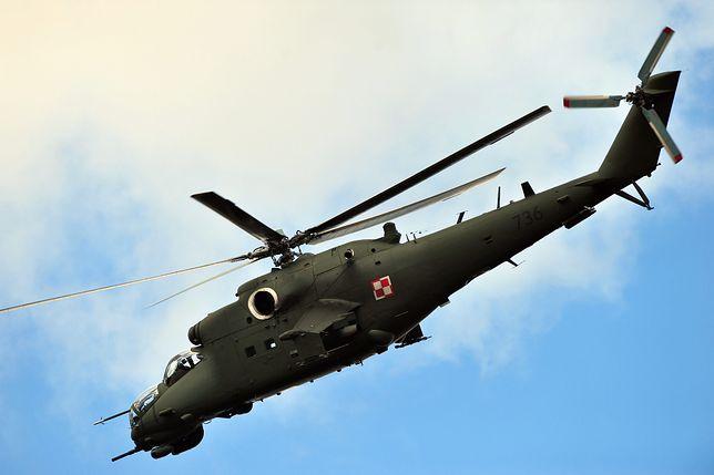 Śmigłowiec służy w polskich siłach powietrznych