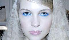 Błękitne cienie do powiek - hit wiosny i lata 2013