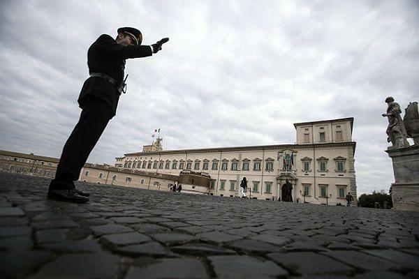 Bójka na zjeździe włoskich związków zawodowych