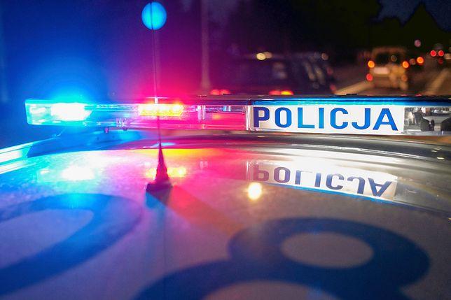 Nocny pościg policji. Wyłączał światła i jechał pod prąd