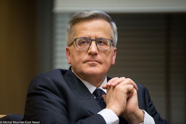 Bronisław Komorowski skomentował wyniki wyborów do Parlamentu Europejskiego