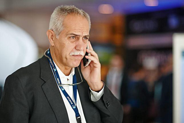 Zygmunt Solorz-Żak podczas Międzynarodowej Konferencji i Wystawy PIKE.
