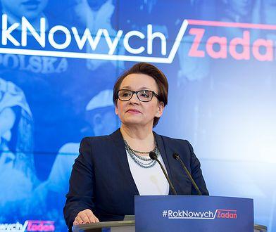 Minister edukacji narodowej Anna Zalewska