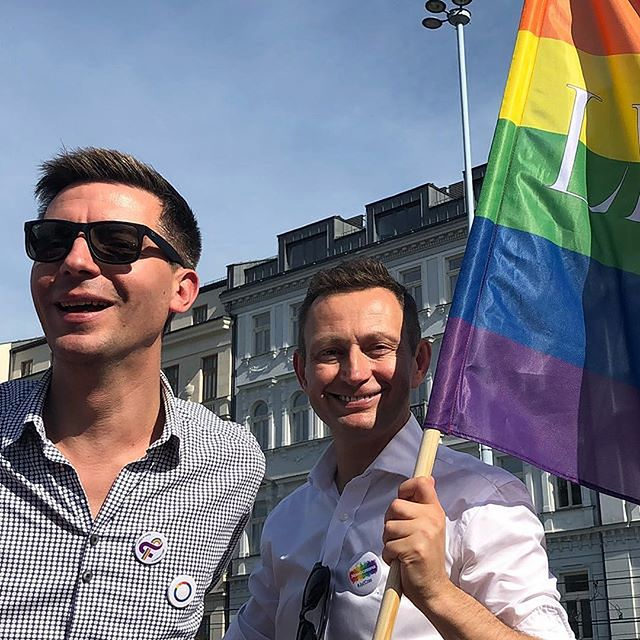 Michał Cessanis i Paweł Rabiej są parą od 2016 roku